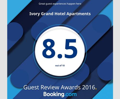 Booking.com - Guest Reviews Awards